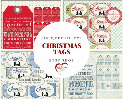printable christmas journaling tags free printable the candy cane legend biblejournallove com