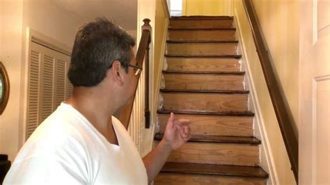 Sanding Banister by How To Refinish Hardwood Stairs