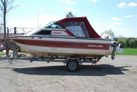 ebay crestliner boats crestliner saber 1989 for sale for 500 boats from usa