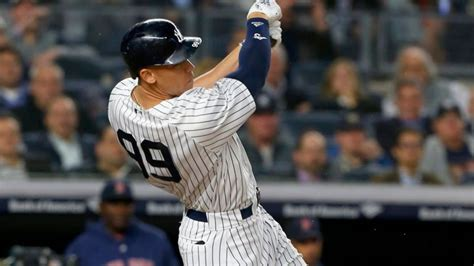 aaron judge lifts yankees past 100 images aaron judge