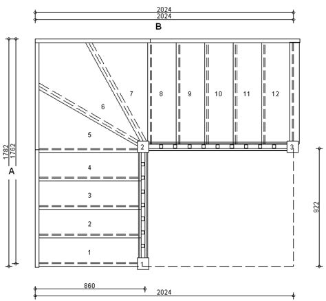 staircase width standard stair dimensions