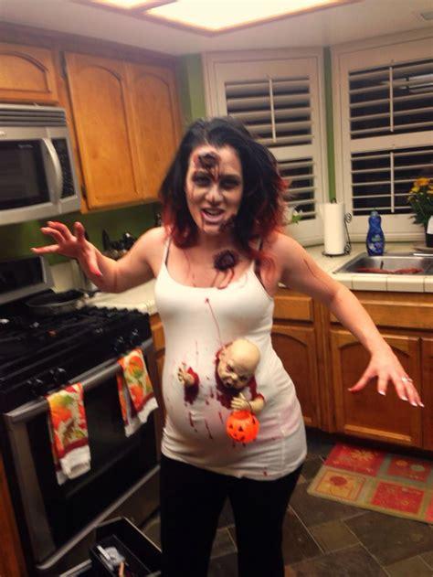 pregnant zombie halloween baby   baby