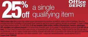 Office Depot Technology Coupons Printable Deal 25 Most Items At Office Depot And Staples