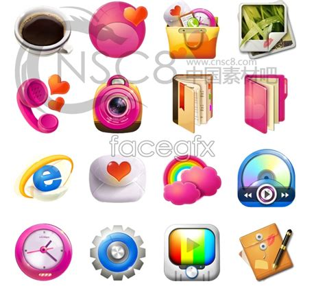 design icon cute desktop icons style software free download