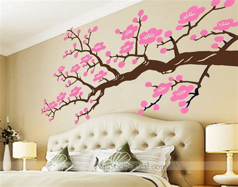 Cherry Blossom Wall Sticker cherry blossom branches wall stickers wallstickerdeal com