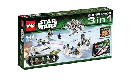 wars lego toys r us toysrus deal lego wars 66449 pack 3 in 1 f 252 r