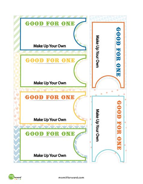 printable blank coupon book template blank coupons for kids www imgkid com the image kid