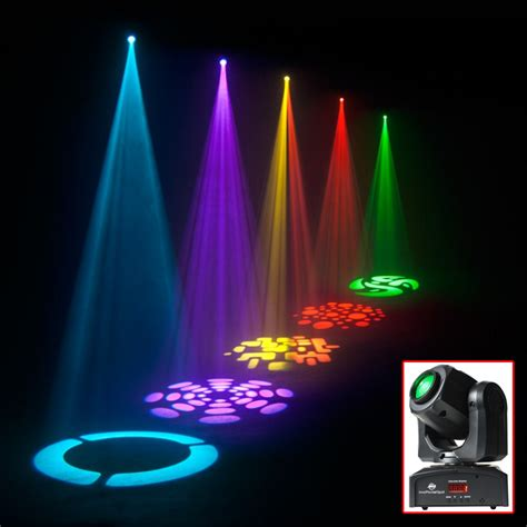 Gobo Light by 2 X American Dj Inno Pocket Spot Moving Led Dmx Adj