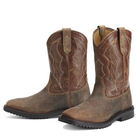 mens square toe work boots ariat s rigtek s work boot
