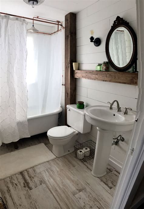 bathroom styling ideas farmhouse style bathroom shiplap bathroom farmstyle