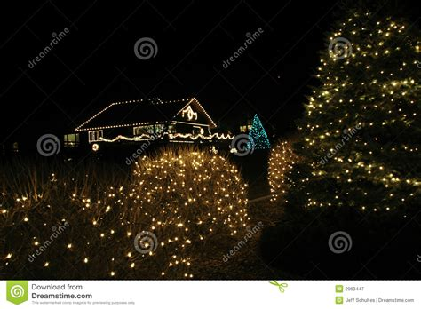 Outdoor Lighting Display Royalty Free Stock Photography Outdoor Display Lighting