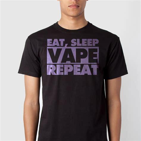 Kaos Eat Sleep Vape Repeat1 eat sleep vape repeat 183 clothing 183 store powered by storenvy
