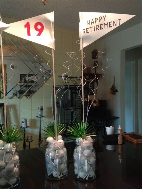 25 best ideas about golf centerpieces on golf