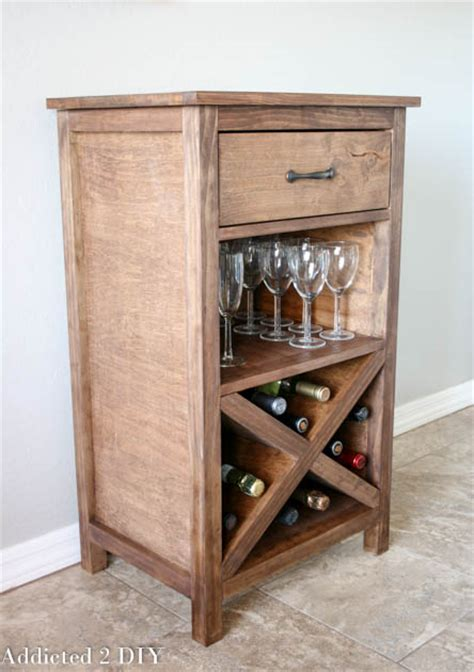 how to build a wine cabinet diy wine storage cabinet addicted 2 diy