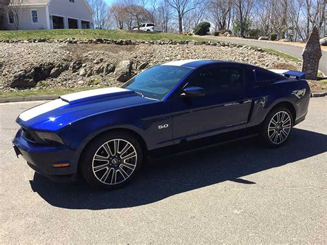 2012 Mustang V8 by Blue 2012 Ford Mustang Gt California Special 5 0 V8 For