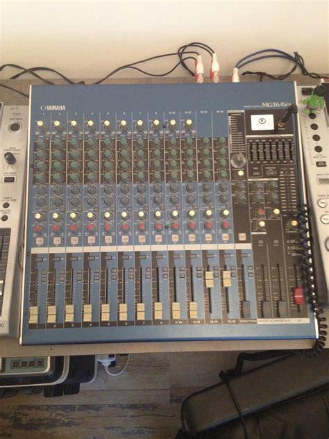 Mixer Yamaha Mg 16 Fx yamaha mg16 6fx image 1551876 audiofanzine