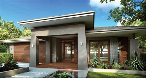 single storey facade new home ideas