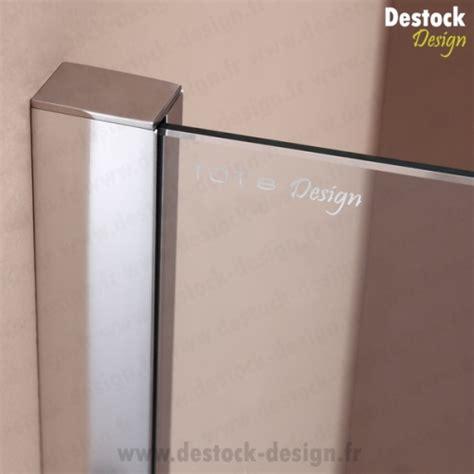 paroi fixe 100 cm paroi fixe miroir de 100 cm pour de salle de bain