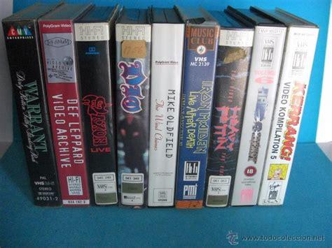 Vhs Def Leppard Archive lote 9 cintas de vhs heavy metal dio iron comprar v 237 deos musicales vhs y dvd en