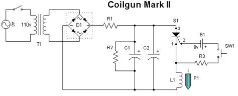 coilgun capacitor circuit megavolts nl coil gun faq