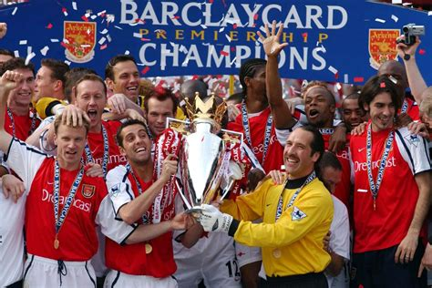 epl winners since 2000 2001 02 season review arsenal win title at old trafford