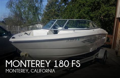 boats for sale monterey ca sold monterey 180 fs boat in monterey ca 076324