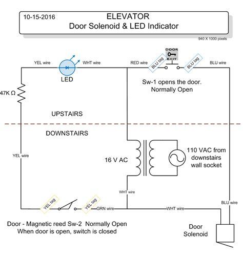 elevator wiring schematic symbols elevator dimensions