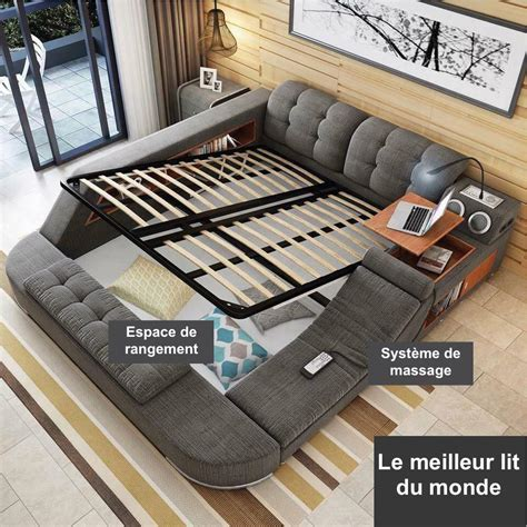 le meilleur canapé lit d 233 couvrez le meilleur lit du monde f 233 noweb