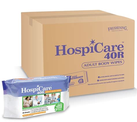 hospicare  adult body wipes  hospeco australia