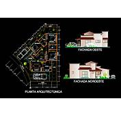 House 2D DWG Plan For AutoCAD • Designs CAD