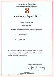 Interest In Resume Sample by Information About Cambridge English Certificates Merry