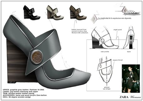 zara design proposal shoes by pen elope at coroflot com