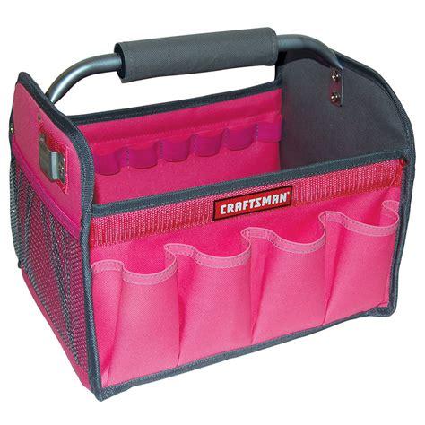 craftsman   tool totes pink