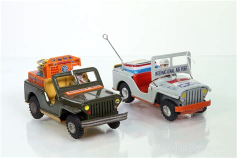 japanese jeep recording jeep and airport jeep friction toys from japan