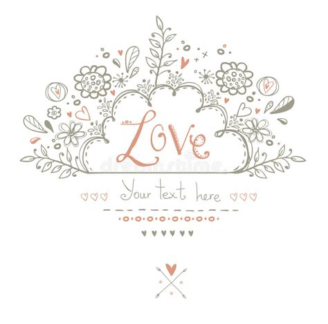 B5 Styles Beautiful Valentines by Beautiful Card In Vintage Style Background