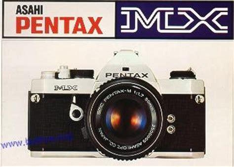 Pentax Mx Instruction Manual User Manual