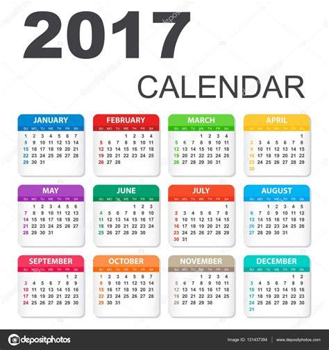 calendar planner july 2017 stock vector illustration of 2017 calendar in horizontal style illustration vector