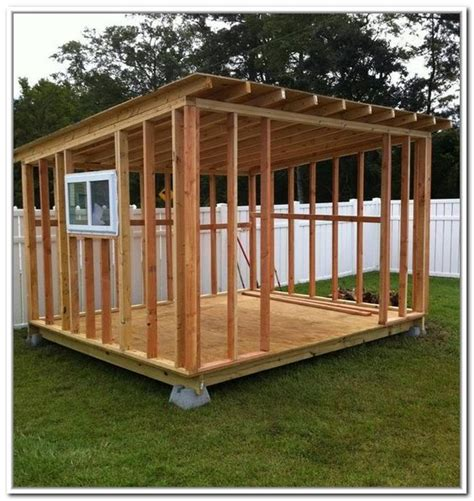 Cheapest Storage Sheds by Cheap Storage Shed Plans Mr Fleury