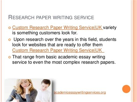 Custom Research Paper Writing by Custom Research Paper Writing Service