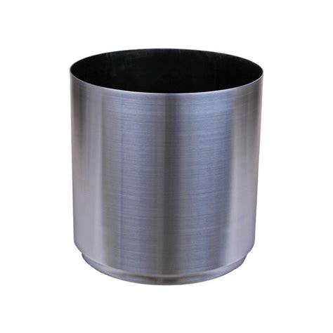 Aluminium Planters by Large Metal Planter Aluminum 13 Quot 16 Quot 20 Quot 24 Quot Diameter Cyli Pots Planters More