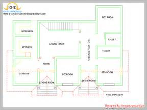 single floor home plan single floor house plan and elevation 1400 sq ft