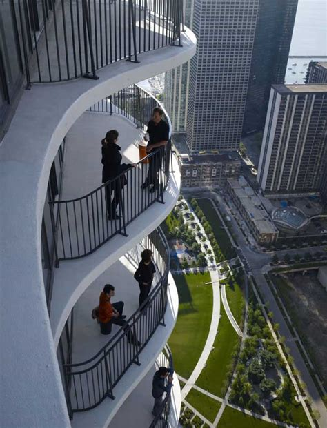 Trump Chicago Floor Plans aqua tower chicago skyscraper e architect