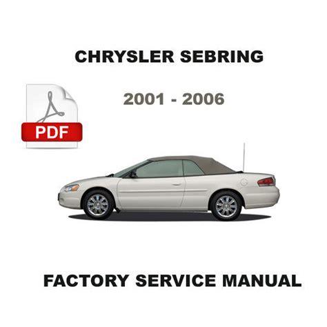 service manual small engine repair training 2002 chrysler concorde auto manual service 2001 2006 chrysler sebring factory oem service repair manual wiring diagram chrysler