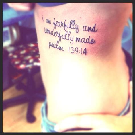 fearfully and wonderfully made tattoo i am fearfully and wonderfully made psalm 139 14 i