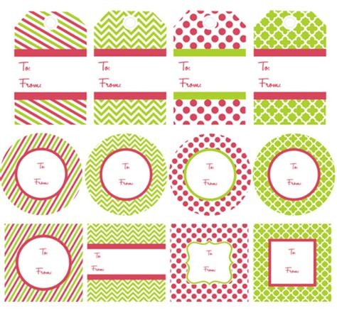 printable name tags for gifts free printable gift tags the frugal female