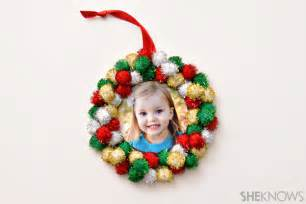 child ornaments these diy photo ornaments are simple enough for to make