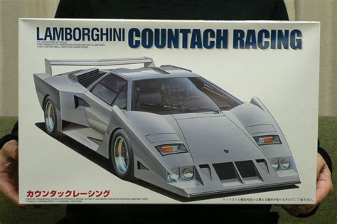 Lamborghini Model Kits Lamborghini Countach Racing 1 20 Model Kit Fujimi Japan Ebay