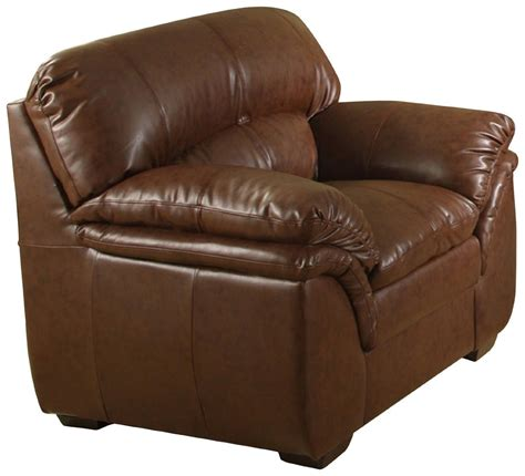 overstuffed leather sofa bonded leather chair furniture living room den office