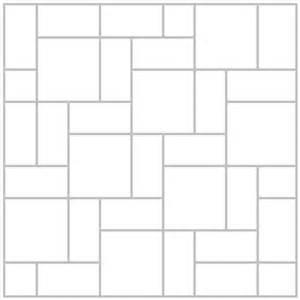 paver concrete stone design patterns layouts