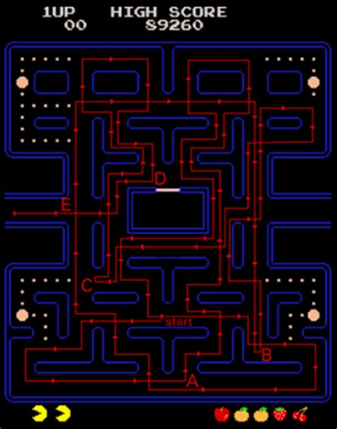 pacman pattern video pac man play guide how to win pac man strategies paths